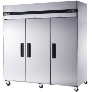 blue air reach in refrigerator