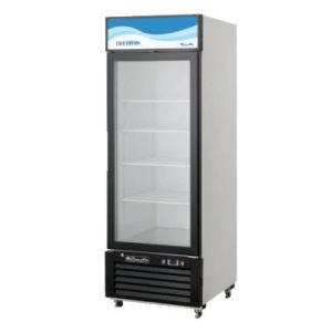 blue air glass door merchandiser