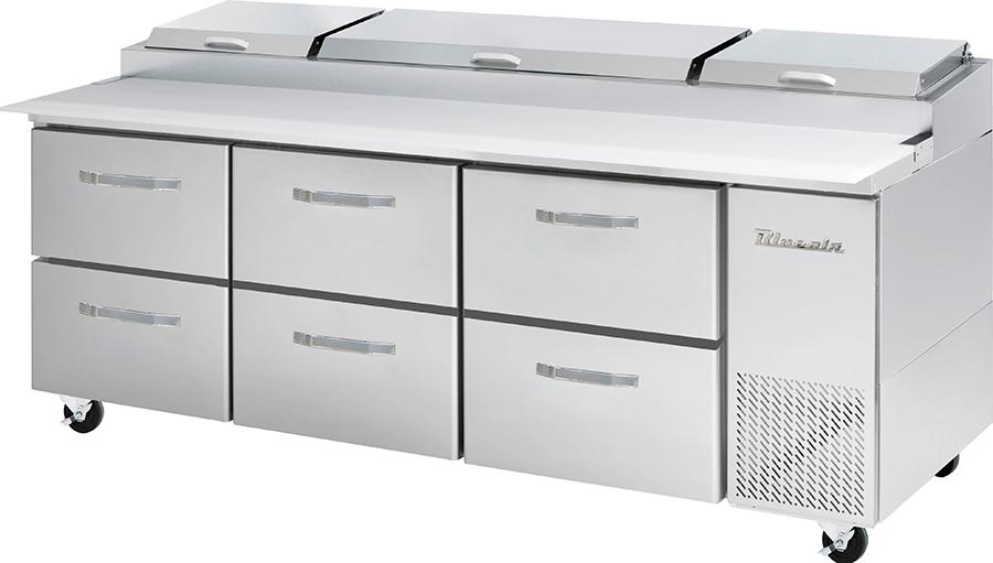 Blueair Pizza Prep Table Refrigerators