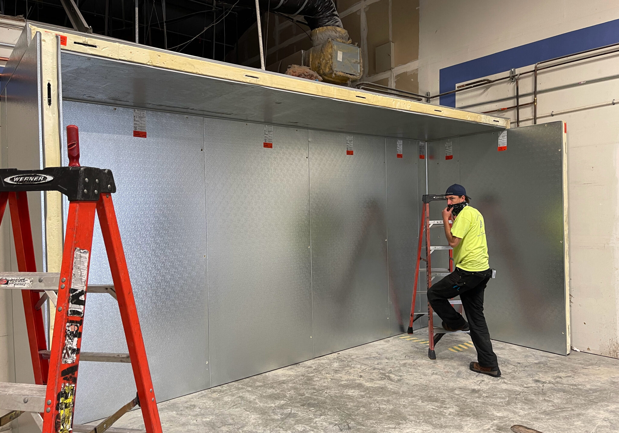 installation services construction replacement