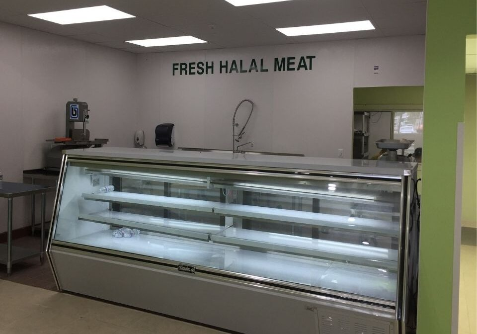 reach-in cooler cold case refrigerated display